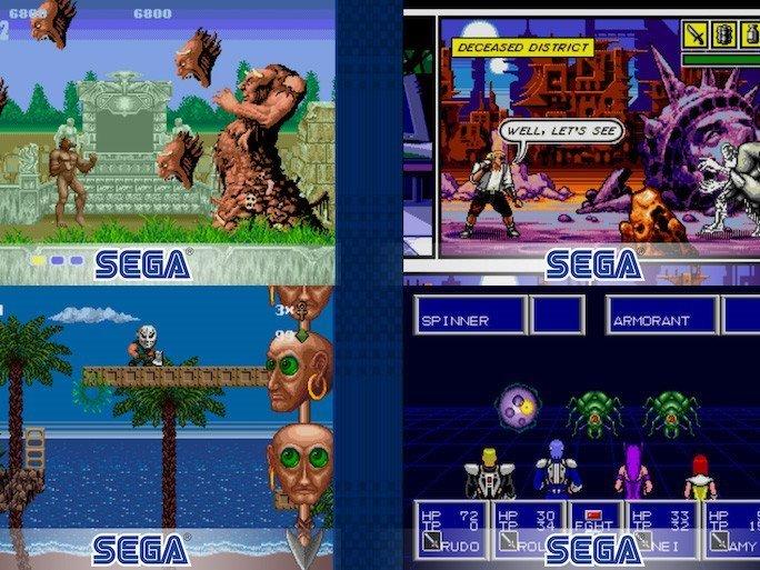 Sega hry
