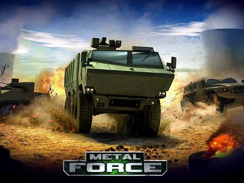 Metal Force: War Modern Tanks hra na mobil