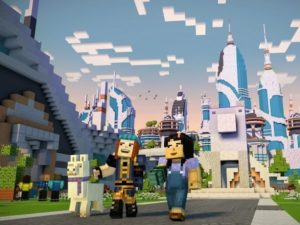 Minecraft: Story Mode android hra zdarma