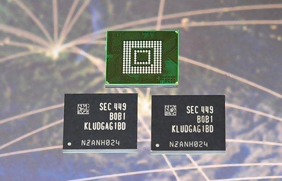 Samsung vyrobil UFS čipy pro chytré telefony