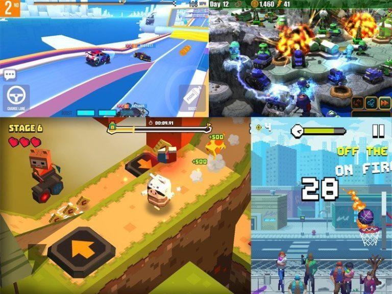 Nejlepší Android hry k 4. Červnu 2017