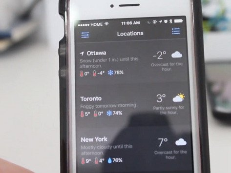 UltraWeather: Local Forecast aplikace android