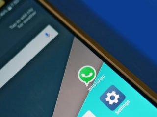 WhatsApp aplikace