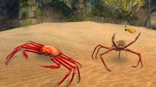 Android hra Crab simulator 3D
