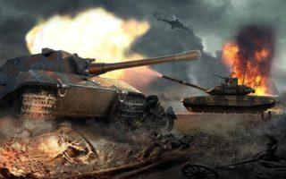 Heavy Army War Tank hra