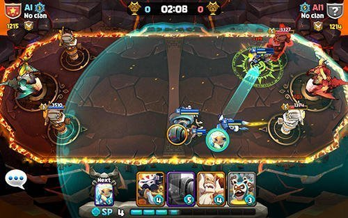 Summoners clash android hra zdarma