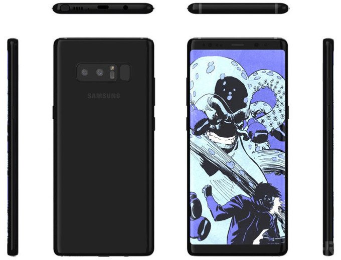 Galaxy Note 8's
