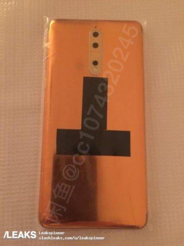 Nokia 8 reálné fotografie