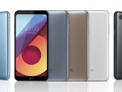 LG announces Q6, Q6+, and Q6α