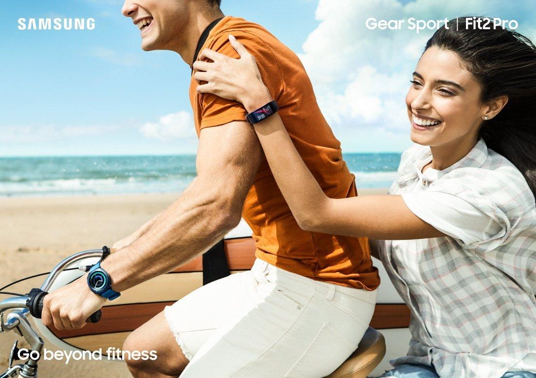 Samsung Gear Sport a Fit2 Pro