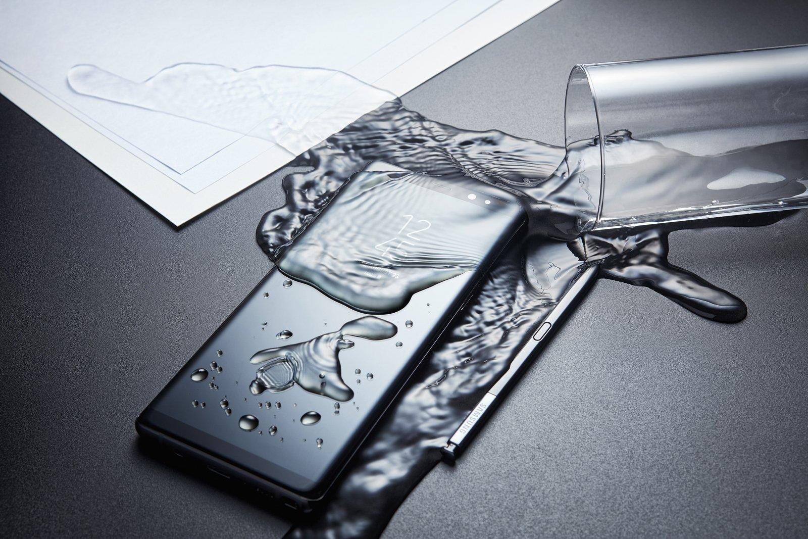 Samsung Galaxy Note 8 je voděodolný