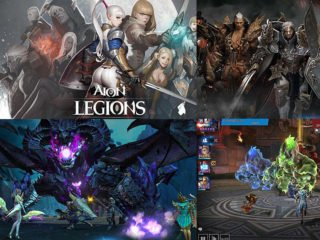 Playing for android phones Aion legions