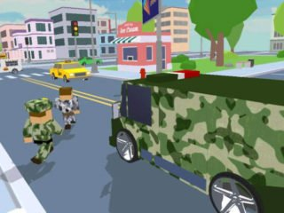 Blocks Army City Rush Racer to download