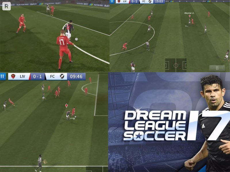 Dream League Soccer 2017 android hra