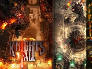 Android Knights fall game