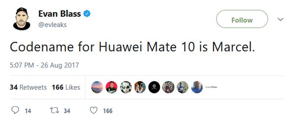 Huawei Mate 10 = Marcel