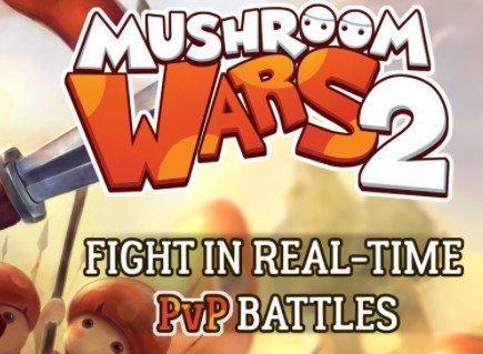 Android hra Mushroom Wars 2 ke stažení