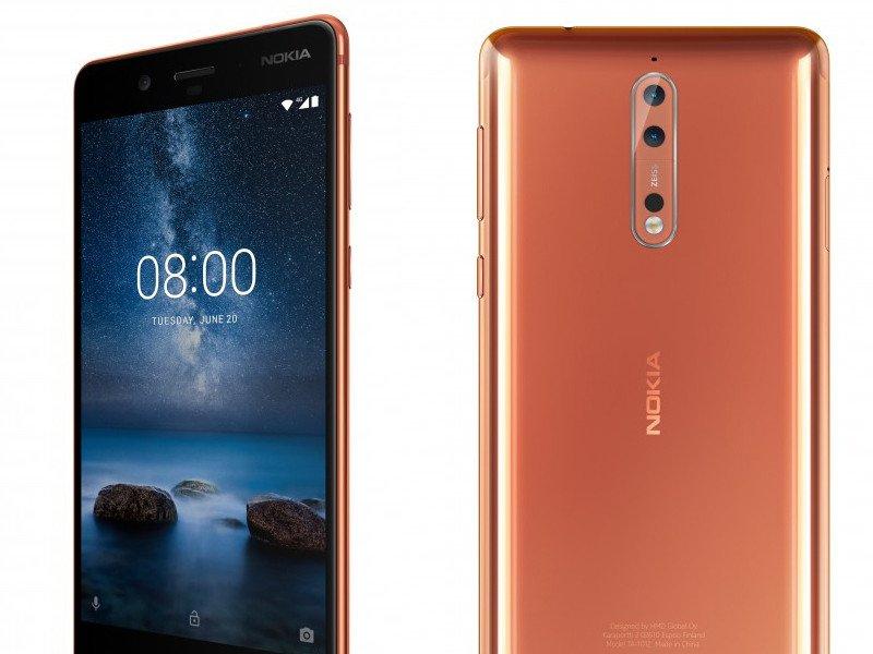 Představení Nokia 8