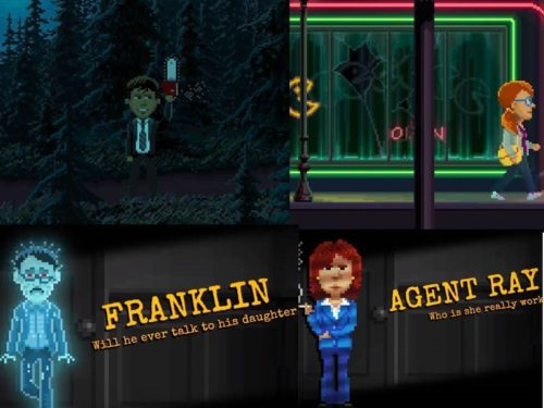 Android hra Thimbleweed Park