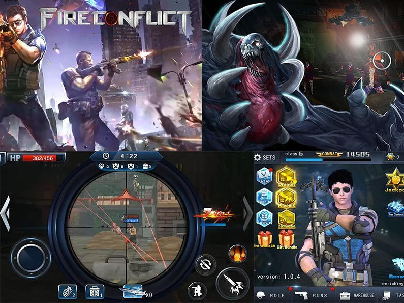 Android hra Conflict Zombie Frontier ke stažení