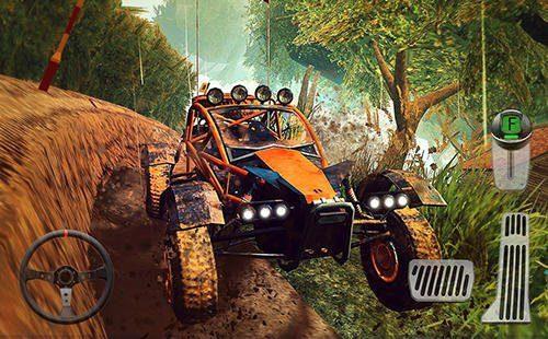 Hra 4x4 Dirt Offroad Parking   zavodni hry novinky hry