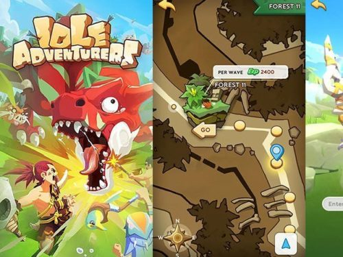 Hra Idle adventurers