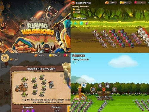 Rising Warriors: War Games - The New Order game download for android phones