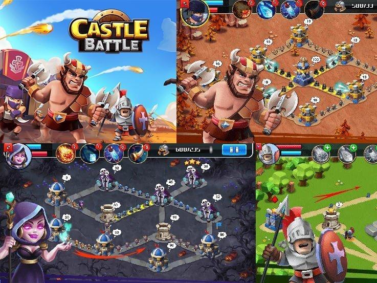 Hra Castle Battle ke stažení