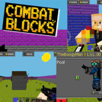 Hra Combat blocks survival online