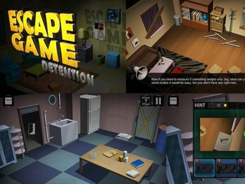 Game Detention: Escape game to download on your mobile