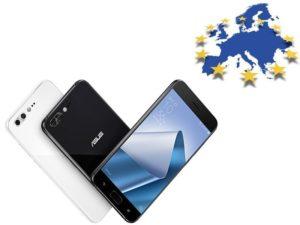 Asus ZenFone 4 v Evropské únií