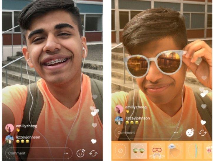 Aplikace instagram a nové filtry