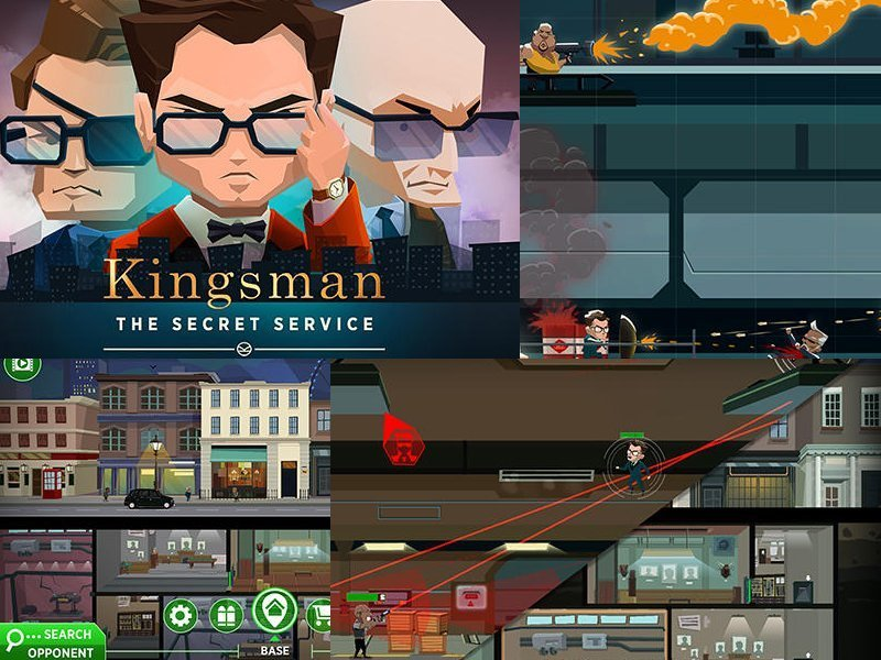 Kingsman The Secre Service hra na android