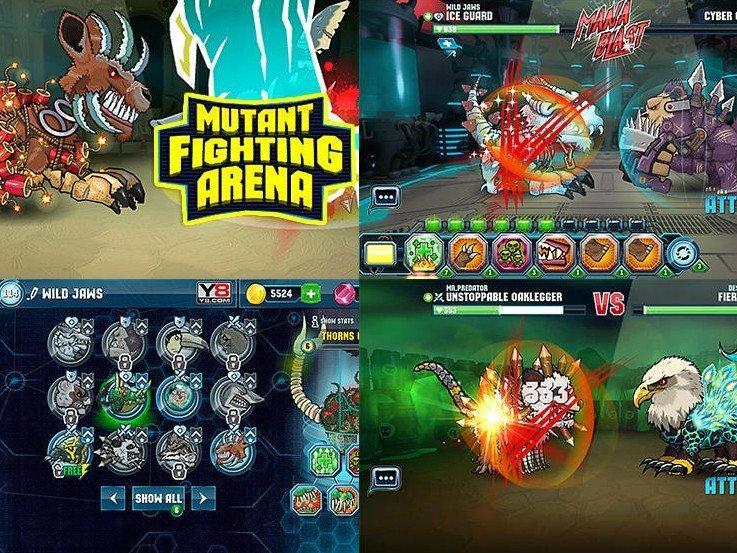 Mutant Fight Arena na mobil ke stažení