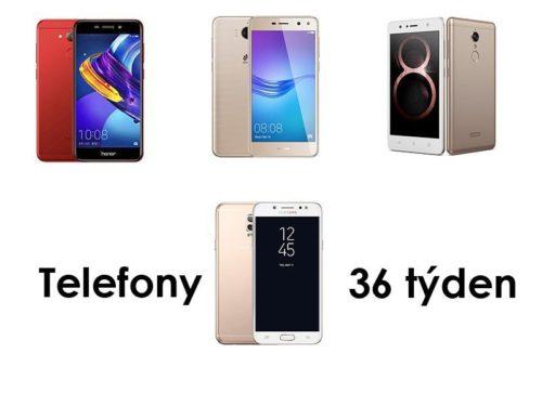 4 Nové mobilní telefony za 36 týden   novinky