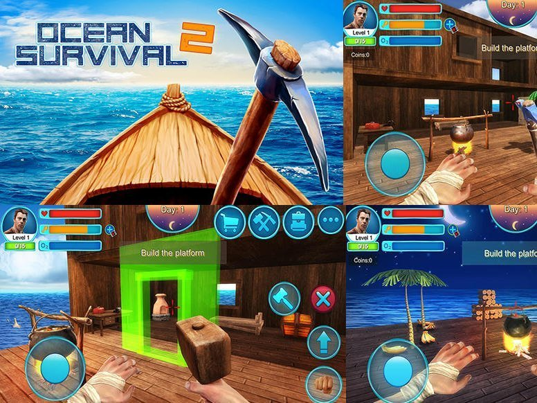 Ocean Survival 2 Android game for free