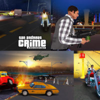Hra San Andreas crime simulator game 2017
