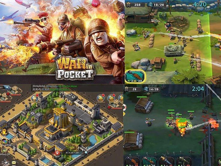 War in Pocket android hra ke stažení