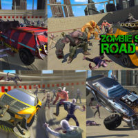 Hra Zombie Smash : Road Kill