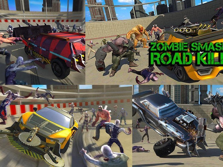 Android zombie Smashe Road Kill to download