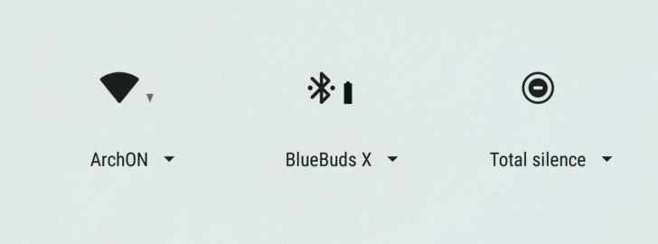 Bluetooth baterie