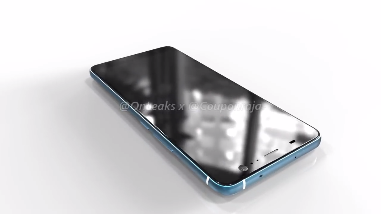 HTC U11 Plus - přední strana, 8MPx fotoaparát