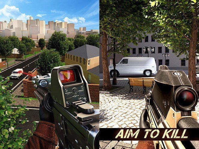 Hra Aim 2 kill: Sniper shooter 3D   novinky androidhry akcni hry