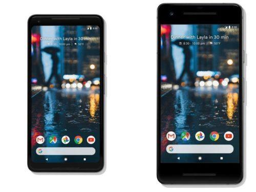 Google Pixel 2 a 2 XL oficiálně   novinky