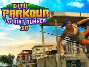 Hra City Parkour Sprint Runner 3D ke stažení na mobil. Užijte si parkour v plné parádě