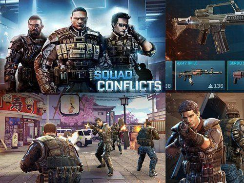 Hra Squad conflicts ke stažení