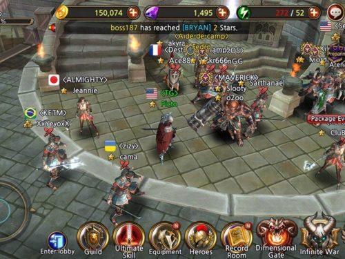 Team Guardian android hra ke stažení
