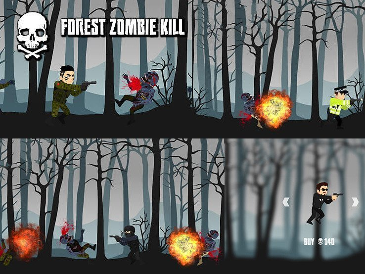 Android hra Zombie Kill