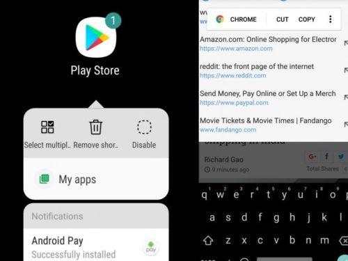 Android oreo na Galaxy S8