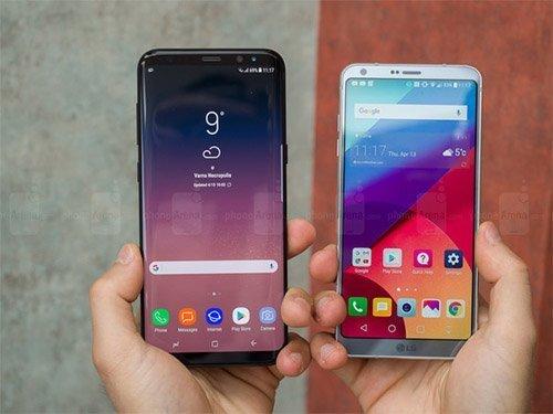 Galaxy S9 a LG G7